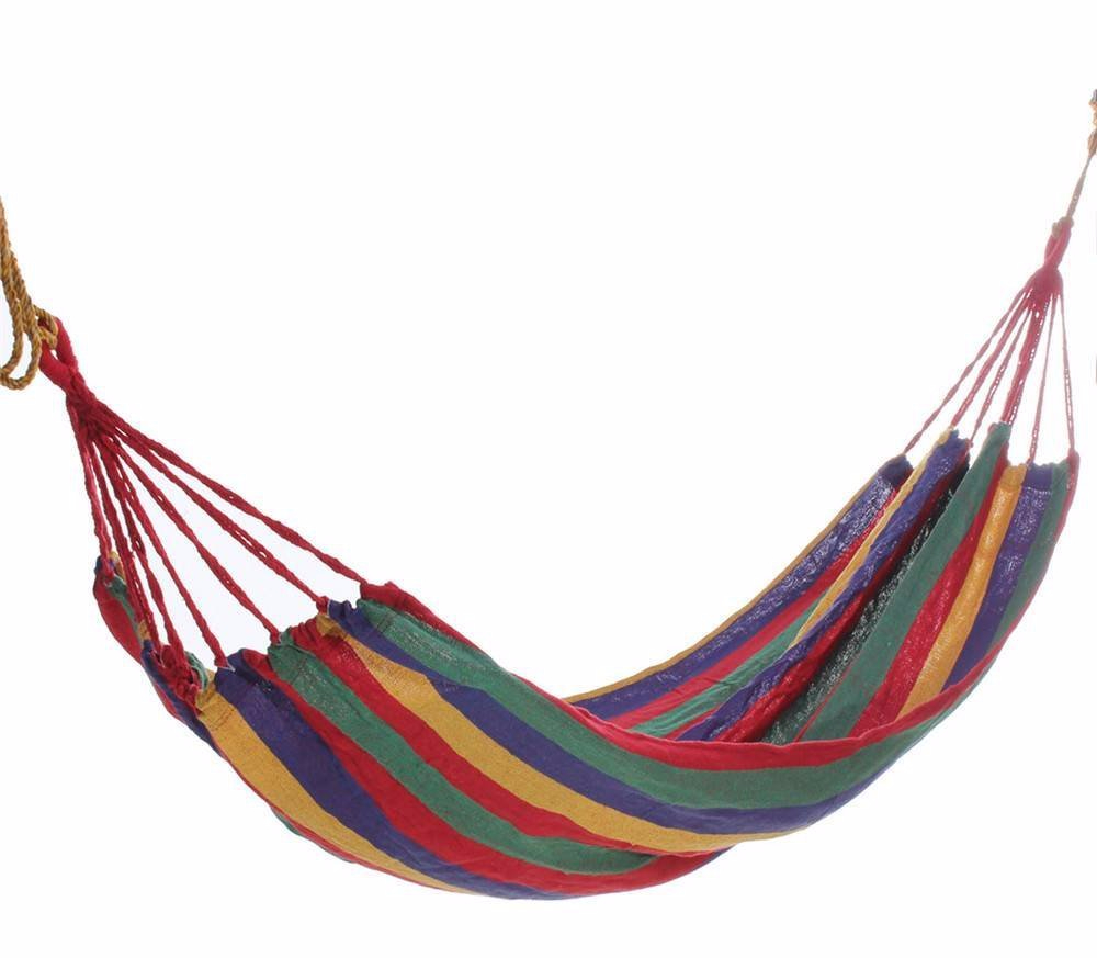 amazon cotton fabric canvas hammock tree hanging swing red for 998